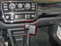 Brodit ProClip - Seat Mii / Skoda Citigo / VW up! - Bj. 15-16 - Angled Mount - 855132