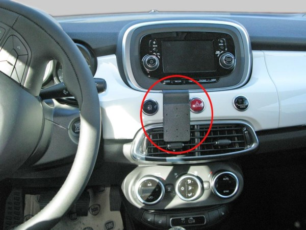 Brodit ProClip - Fiat 500X - Bj. 15-21 - Center Mount - 855097