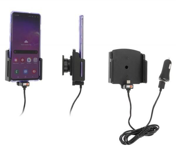 Brodit Halter - Geräte mit 75-89mm Breite / 2-10mm Dicke / USB-C - USB-Kabel - 721204