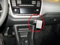 Brodit ProClip - Seat Mii / Skoda Citigo / VW up! - Bj. 17-22 - Angled Mount - 855282