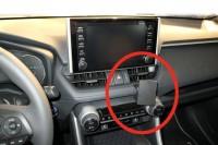 Brodit ProClip - Toyota RAV4 / Suzuki Across - Bj. 19-22 - Angled Mount - 855489