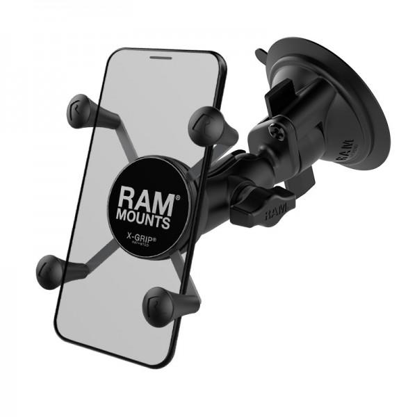 RAM X-Grip® Halter für Smartphones mit Saugnapf - RAM-B-166-A-UN7U