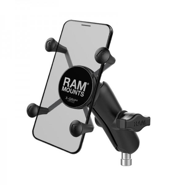 RAM X-Grip® Halter für Smartphones mit Motorrad-Lenkerbefestigung - RAM-B-367-UN7U