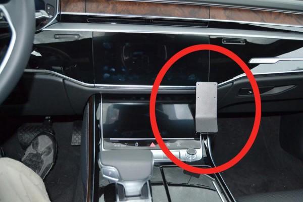 Brodit ProClip - Audi A8 - Bj. 18-21 - Angled Mount - 855585