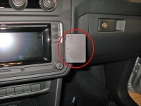 Brodit ProClip - VW Caddy / Caddy Life - Bj. 16-20 - Angled Mount - 855134