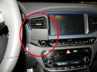 Brodit ProClip - Hyundai IONIQ - Bj. 17-19 - Center Mount - 855285
