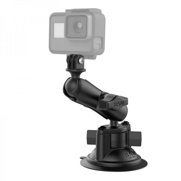 RAM GoPro Kamera Halterung mit Saugnapfbefestigung - RAM-B-166-GOP1