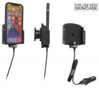 Brodit Halter - Apple iPhone 13 Pro Max / 12 Pro Max mit Hülle - USB-Kabel - 721237