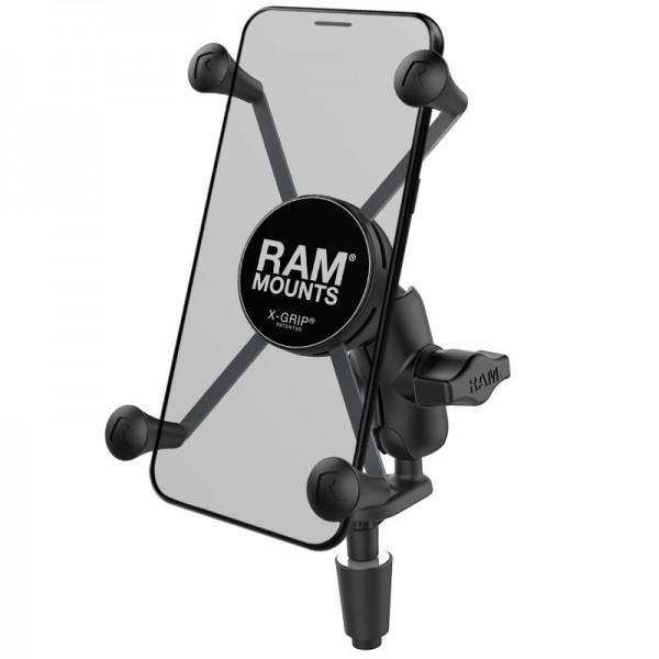 RAM X-Grip® Halter für große Smartphones mit Gabelkopfbefestigung- RAM-B-176-A-UN10U