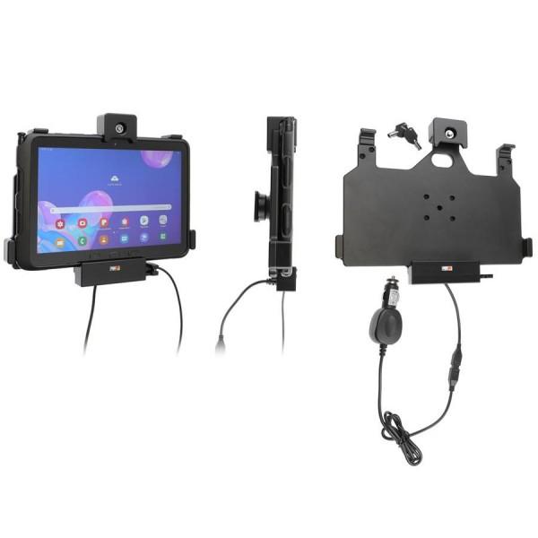 Brodit Halter - Samsung Galaxy Tab Active Pro - KFZ-Ladekabel - USB-Host - absperrbar - 735149