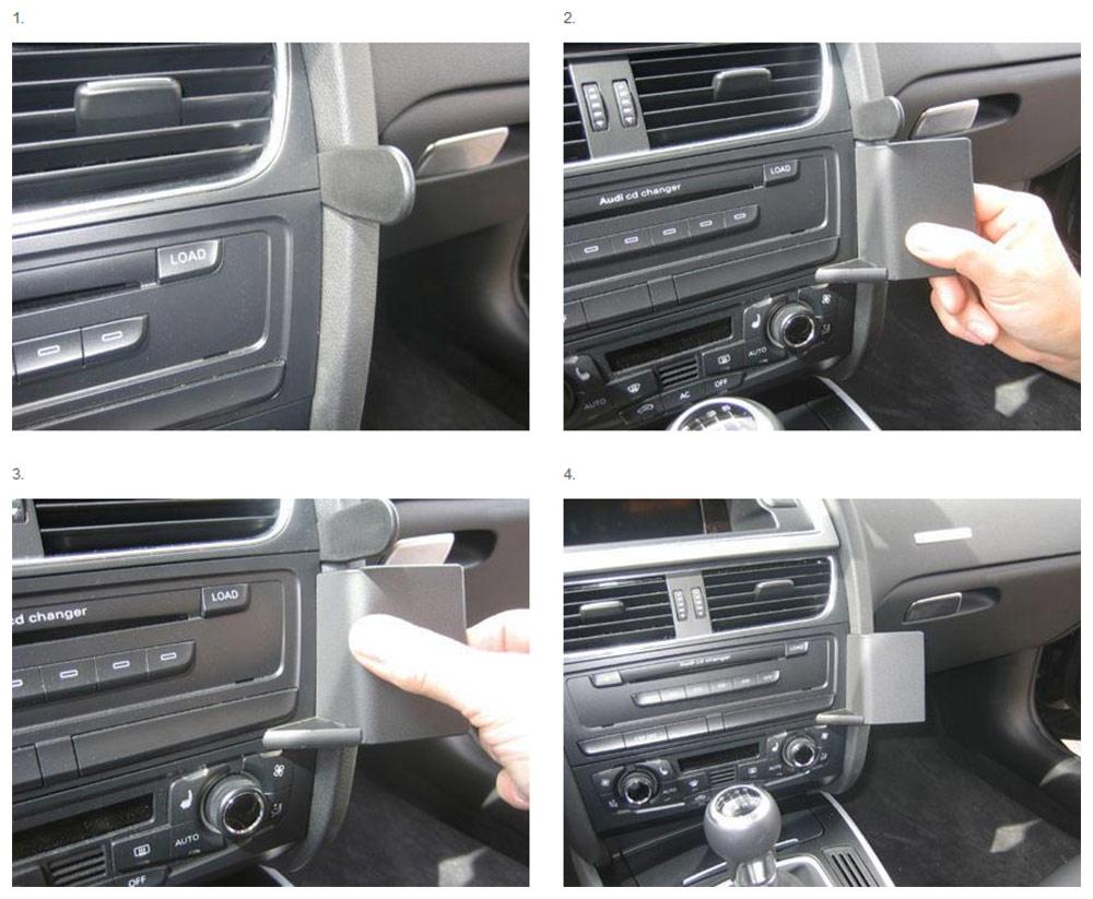 Brodit ProClip für Audi A4 Limo 01-07