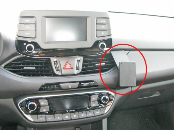Brodit ProClip - Hyundai i30 - Bj. 17-19 - Angled Mount - 855302