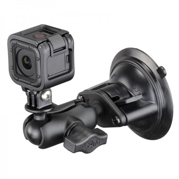 RAM Saugnapfhalterung für GoPro Kameras - RAM-B-166-A-GOP1U