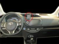 Brodit ProClip - Toyota Yaris - Bj. 15-20 - Center Mount - 855040