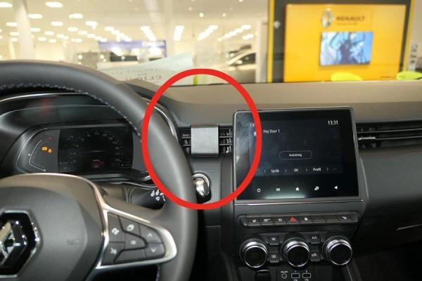 Brodit ProClip - Renault Clio - Bj. 20 - Center Mount - 855575