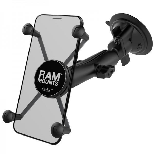 RAM X-Grip® Halter für große Smartphones mit Saugnapf - RAM-B-166-C-UN10U