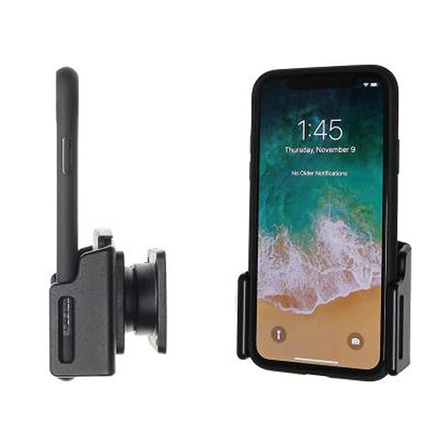 Apple iPhone 11 // XR mit Hülle Kabelbefestigung Brodit Halter 714013