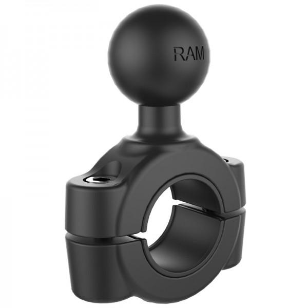 RAM Torque™ Rohrbefestigung 19mm-25mm mit B-Kugel - RAM-B-408-75-1U