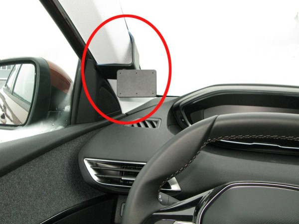 Brodit ProClip - Peugeot 3008 / 5008 SUV - Bj. 17-19 - Left Mount - 805276