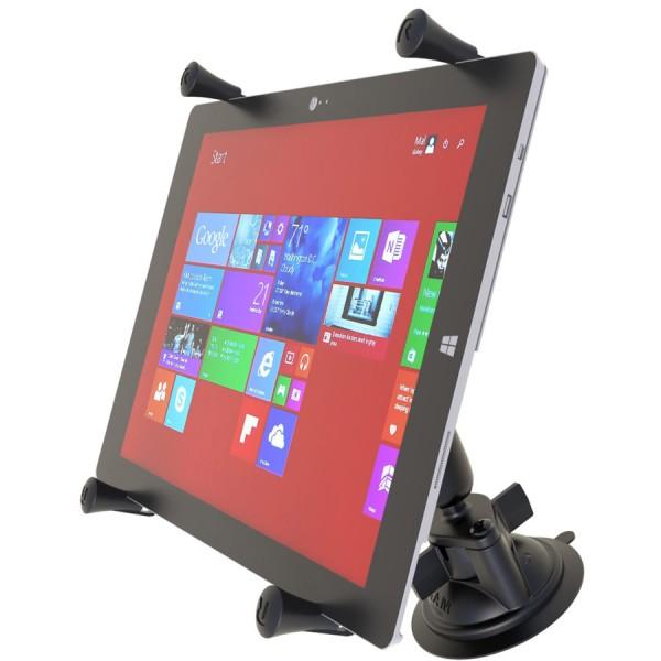 RAM X-Grip® Halter für 11-12 Zoll Tablets mit Saugnapf - RAM-B-166-UN11U