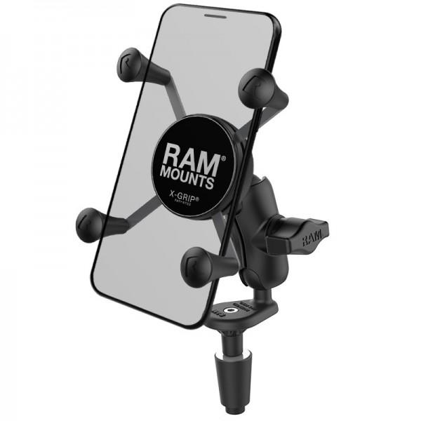RAM X-Grip® Halter für Smartphones mit Gabelkopfbefestigung - RAM-B-176-A-UN7U