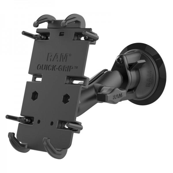 RAM Quick-Grip™ Halter für große Smartphones mit Saugnapf - RAM-B-166-PD4U